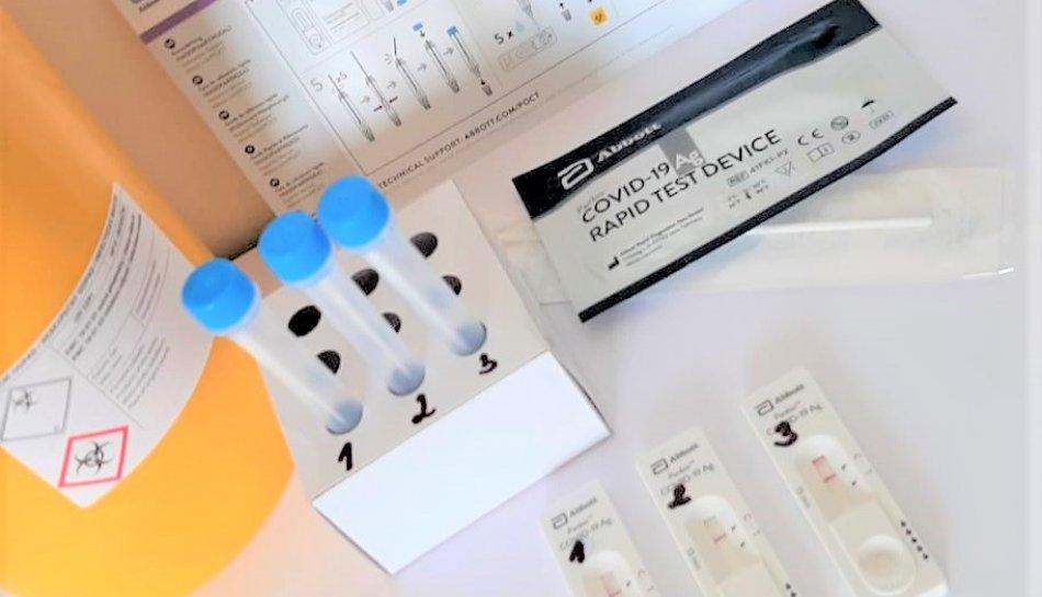 Nabízíme testování na COVID-19 prostřednictvím POC antigenních testů